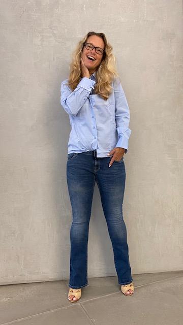 zakelijke dames blouse