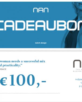NAN cadeaubon t.w.v. 100 euro