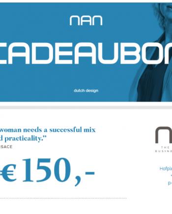 NAN cadeaubon t.w.v. 150 euro