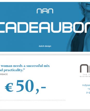 NAN cadeaubon 50 euro
