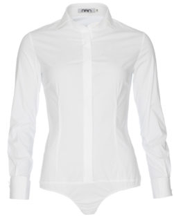 Dames bodyblouse wit