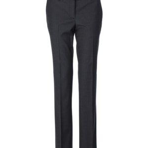 dames pantalon grijs krijtstreep