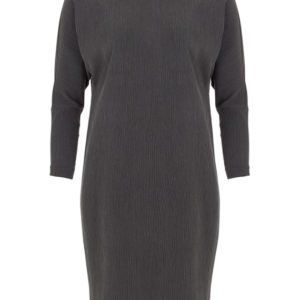 zakelijke donkergrijze jurk