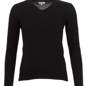 zwarte slimfit trui