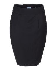 Maxima donkerblauw krijtstreep dames rok