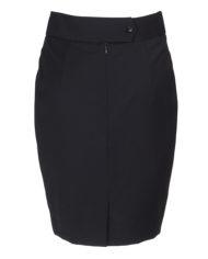 Maxima donkerblauw  dames rok