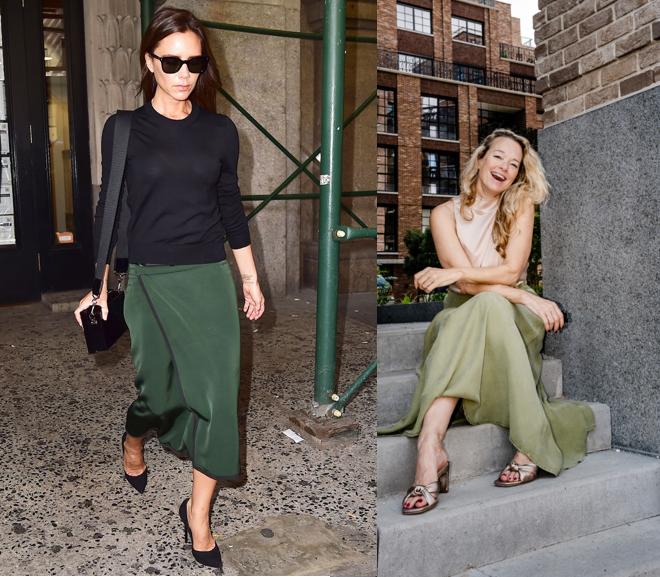 NAN maxiskirt green